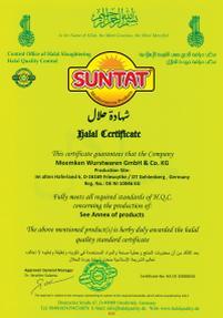 Helal Zertifikat