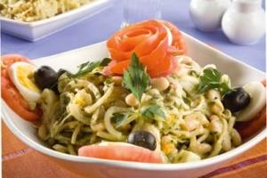 Bohnensalat mit Sesampaste