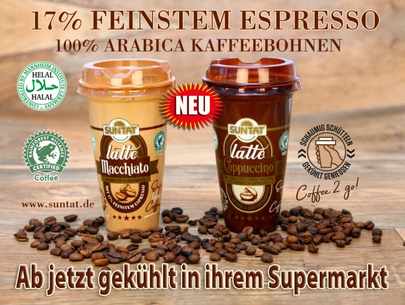 Coffee to go: Latte Cappucino & Latte Macchiato