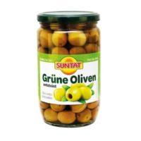 Grüne Oliven o.stein 720ml, Glas