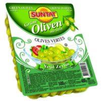 Grüne Oliven m.k 400g vak.