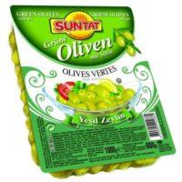 Grüne Oliven m.k 800g, vac.