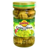 Grüne Oliven 330ml Gl.