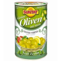 Grüne Oliven (1500ml)-800g Dose