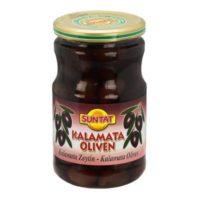 Kalamata Oliven mit Stein 720ml Gl.