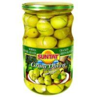 Grüne Oliven, gebrochen 720ml Gl.