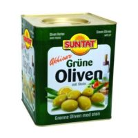 Grüne Oliven, gebrochen 10kg