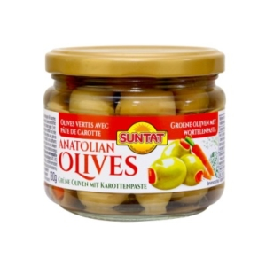 Gr. Olives w. carrots 300ml