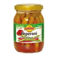 Peperoni m. Paprikamark 190ml Gl.
