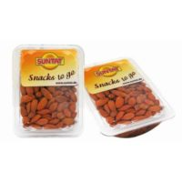 Almonds roasted salted 200g