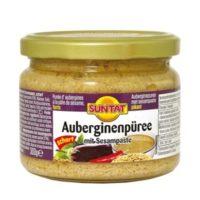 Gegrillte Auberginen mit Sesampaste scharf 300g