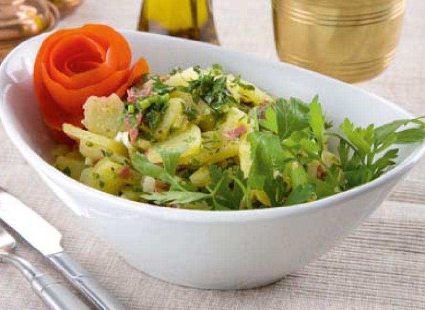 pastırmalı patates salatası